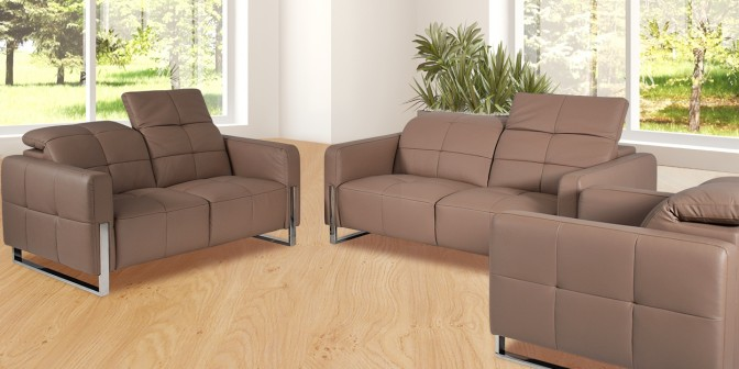 Volo Leather Sofa Set  Main Image