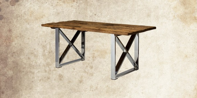 MADERA 6 SEATER SOLID WOOD DINING TABLE
