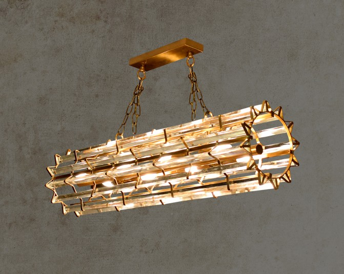 Nevada Gold Pendant Light Main Image