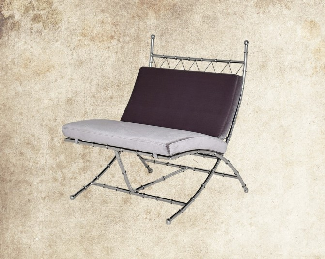Alexia Stainless Steel Leisure Chair Main Image