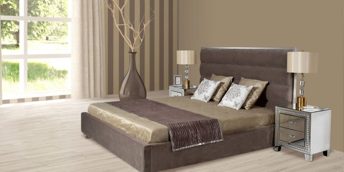 Scarlett  King Bed Set With Storage Main Image