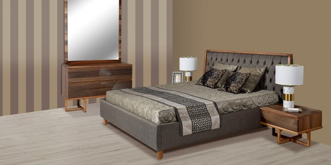 Efrain  King Bed Set With Storage Main Image