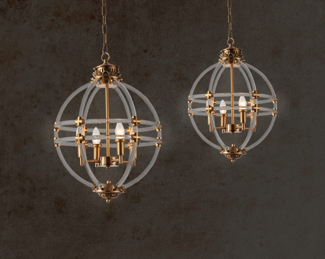 Leocadio Gold Pendant Light Main Image