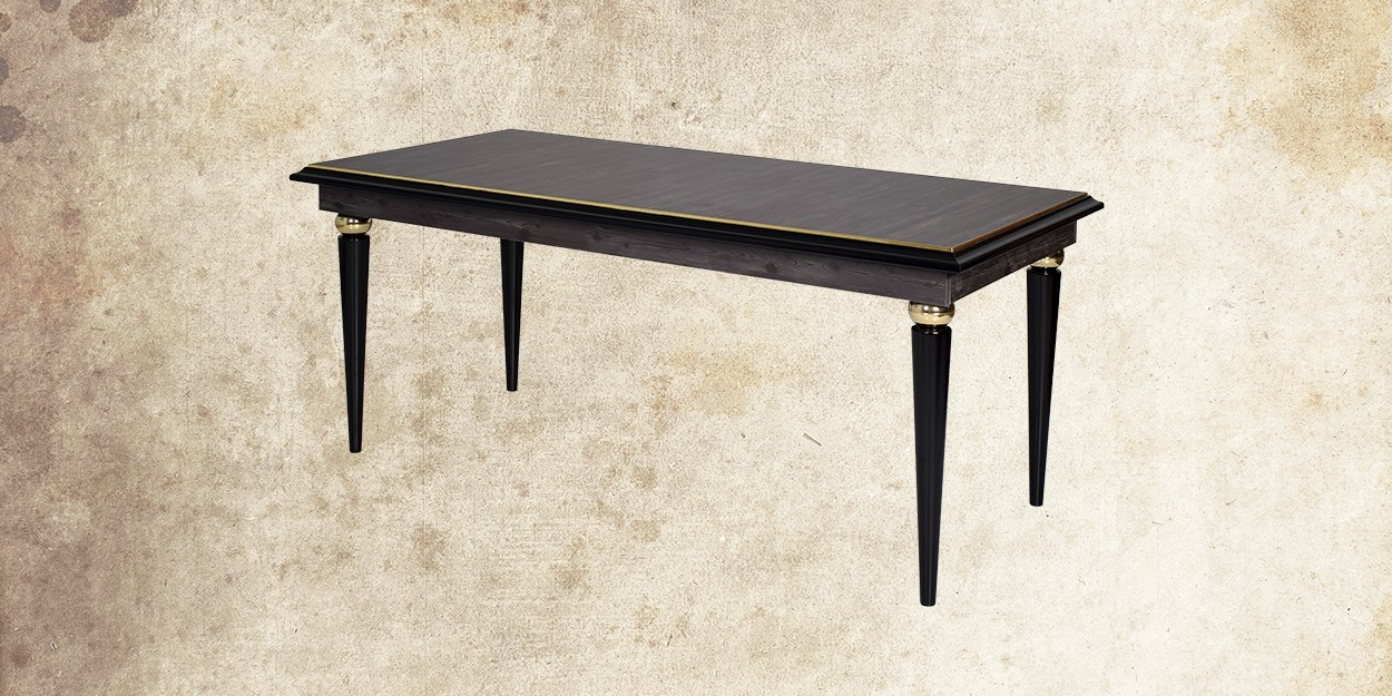 Rebab 6 Seater Dining Table with rebab Fabric Dining Chair Main Image