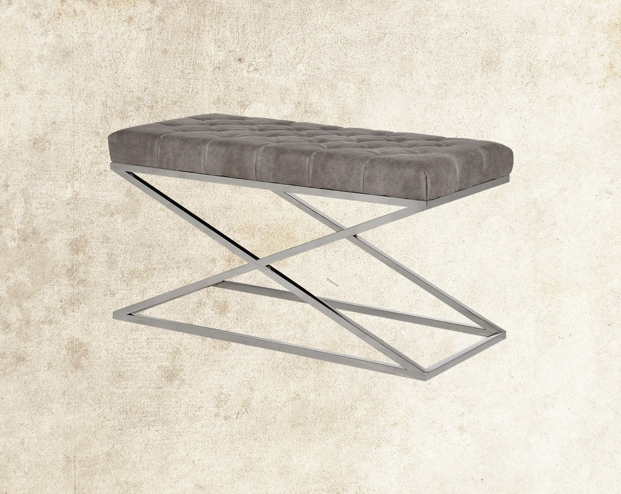 Loisa Stainless Steel Double Bench Main Image