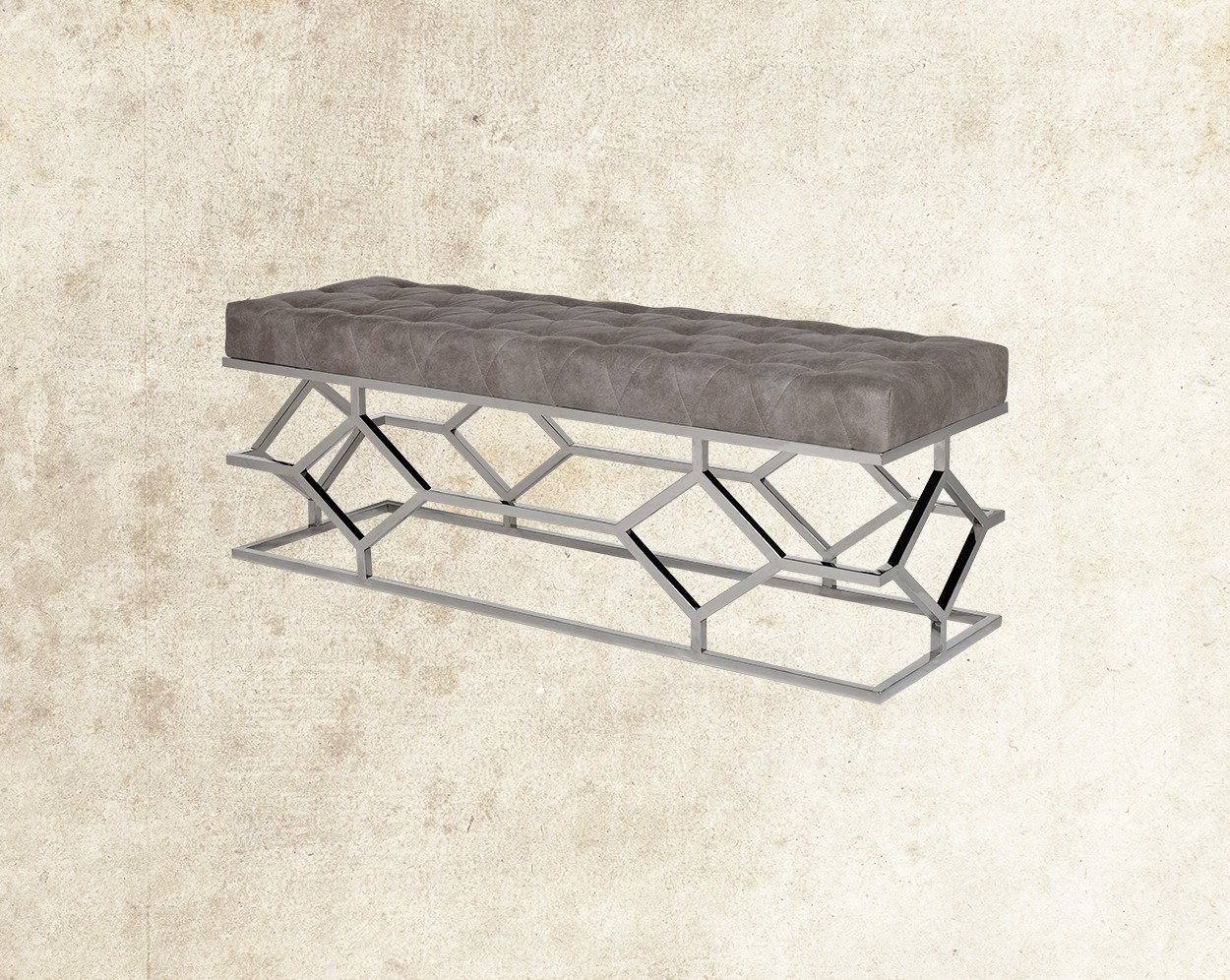 Judeen Stainless Steel Double Bench Main Image