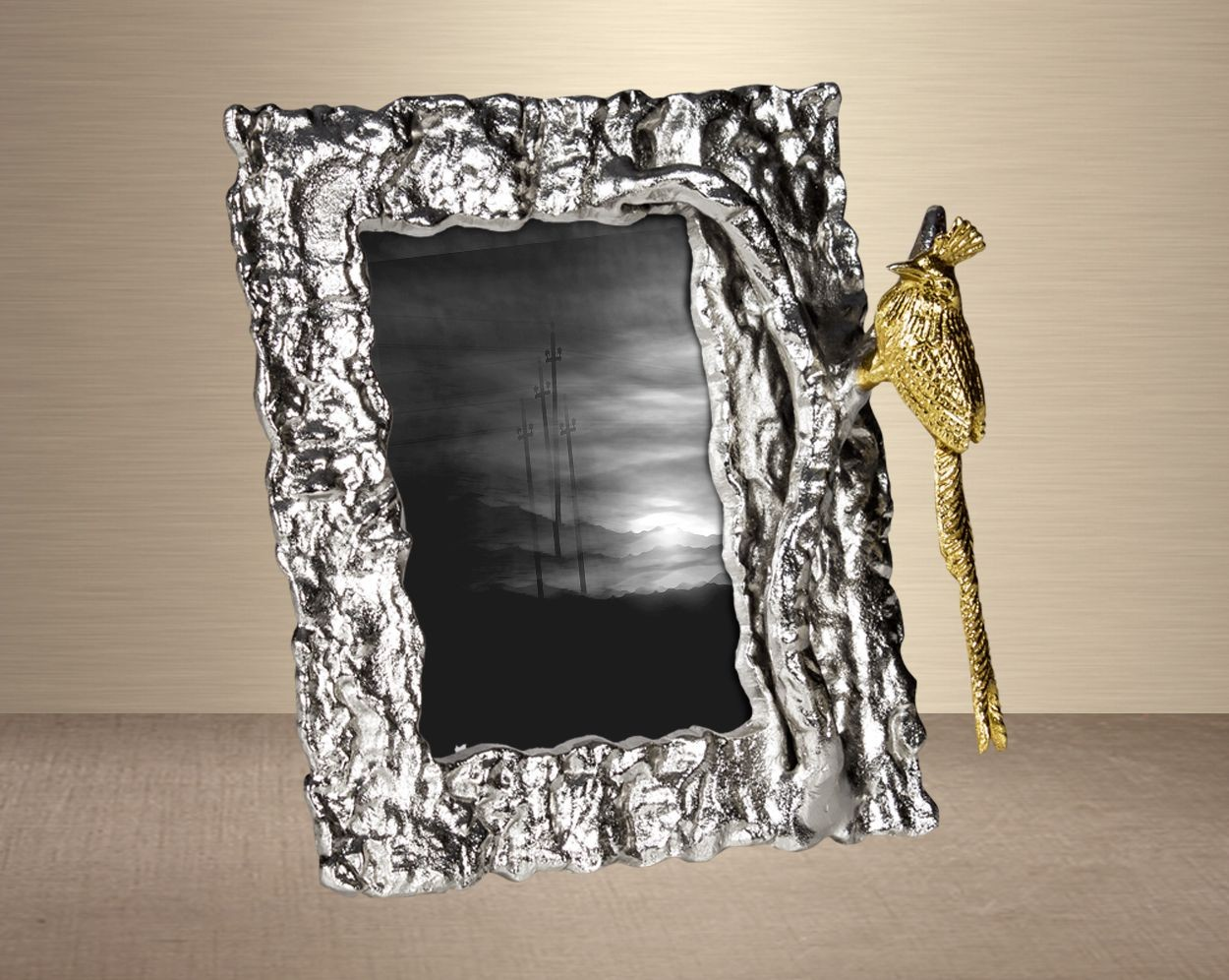 Nada Silver Photo Frame Double Frame