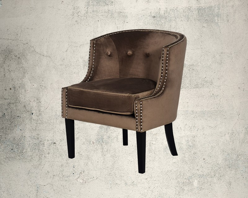 Quinta Fabric Wing Chair Main Image