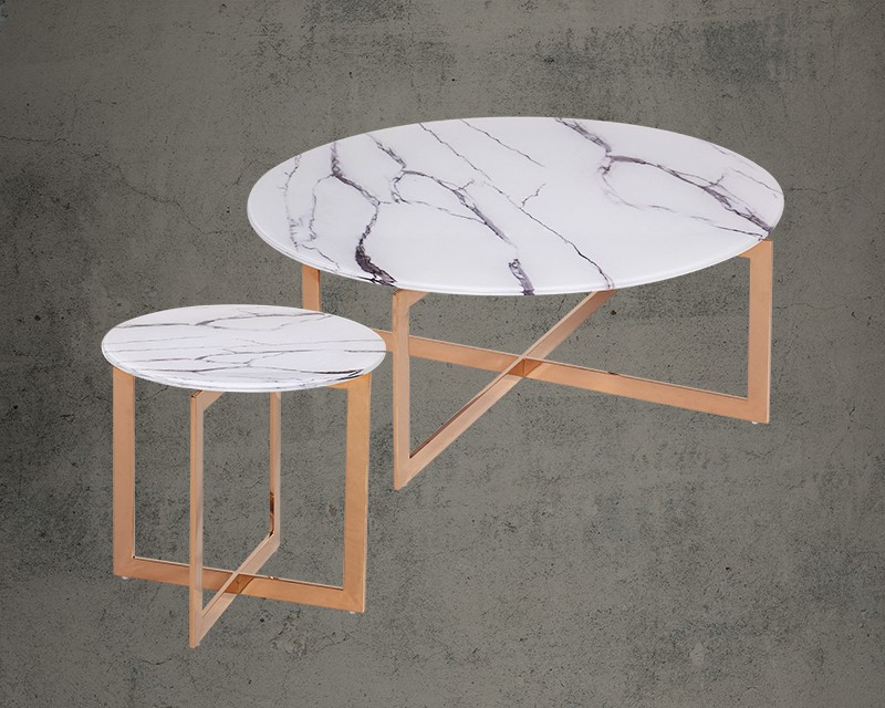 Buy Mavia Coffee Table End Table Set Online At 30 Off Furniturewalla