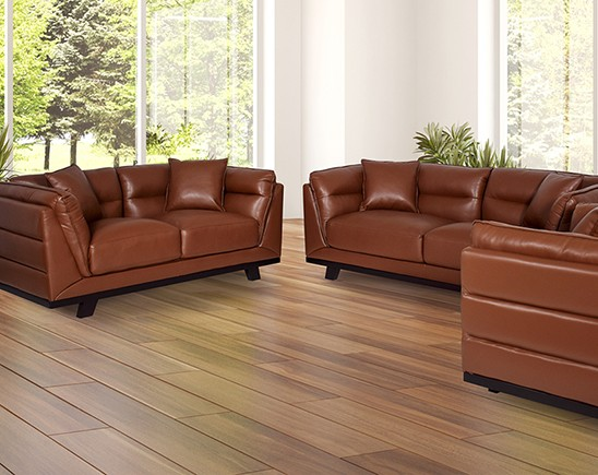 Larisa Leather Sofa Set