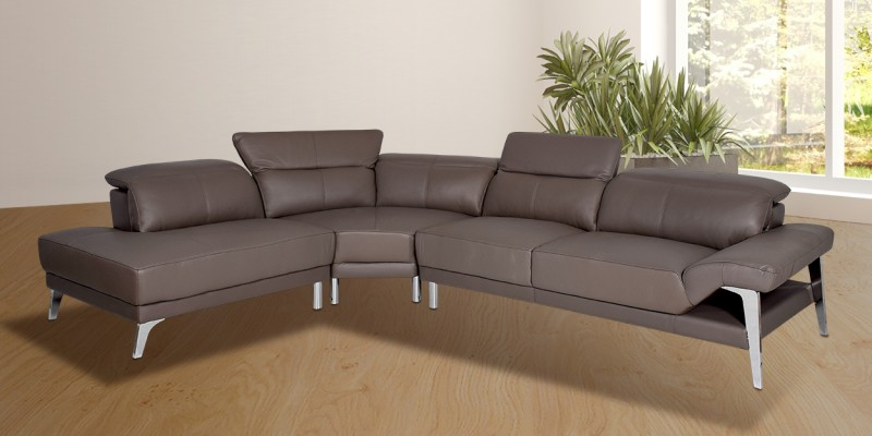 Leather Sofa Online : Buy Luxury Leather Sofa Set Online At Best Prices In India - Furntiurewalla