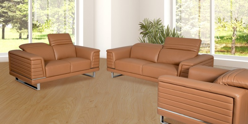 Luxury Leather Sofa Set At, Leather Sofa Brands In India